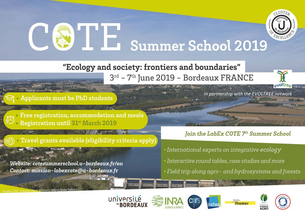 Summer School 2019: Ecology and society: frontiers and boundaries
