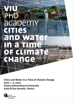 "Inscription à la PhD Academy ""Cities and Water in a Time of Climate Change"""