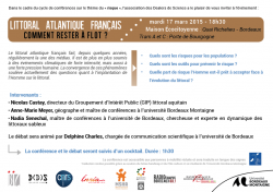 Flyer 2 - programme des interventions